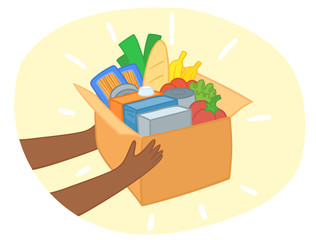 "food Donation"" photos, royalty-free images, graphics, vectors ..."