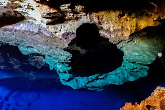 Water In Cave At Chapada Diamantina National Park