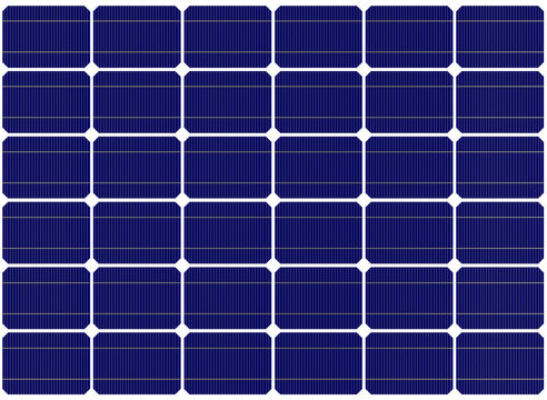 Solar Panels Backgrounds. Closeup of solar panel. Solar cell.