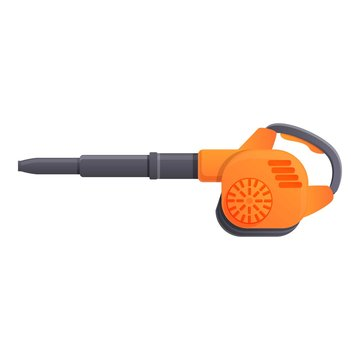 Leaf blower icon. Cartoon of leaf blower vector icon for web design isolated on white background