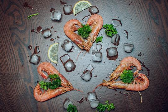 Argentine Raw shrimp