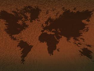 ziemia mapa  - fototapety na wymiar