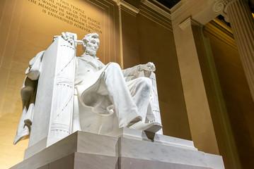 Lincoln Memorial statue Fotomurales
