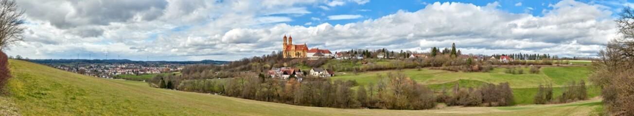 Wall Mural - Wallfahrtskirche Schönenberg, Ellwangen - Jagst, Baden-Württemberg
