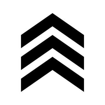 Chevron icon vector