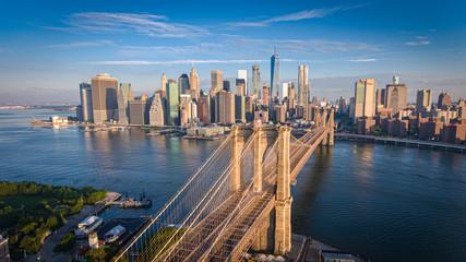 Brooklyn Bridge New York aerial photos