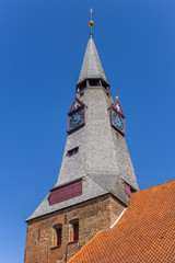 Fotomurales - Tower of the Christ church in Tonder, Denmark