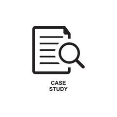 CASE STUDY ICON , SEO MAGNIFIER ICON
