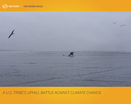 The Wider Image: A U.S. tribe's uphill battle against climate change