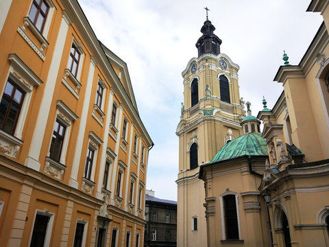 The Greek Catholic Cathedral of St John the Baptist in Przemyl, Poland
