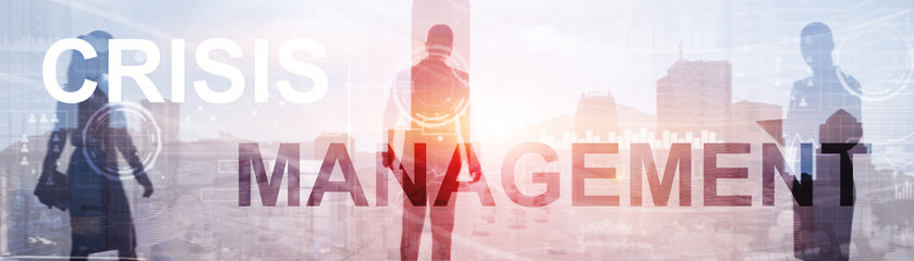 Crisis Management Solution Crisis Identity Planning Concept.