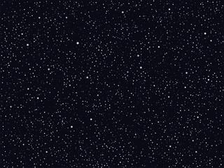 Estores personalizados con paisajes con tu foto Starry Night Sky, Deep Outer Space Vector Background