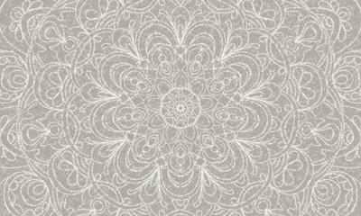 Foto auf AluDibond Boho-Stil vintage lace sparkles pattern