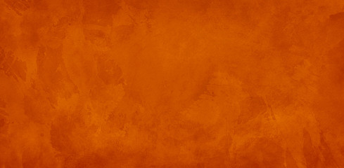 orange background, halloween texture for website backgrounds, old vintage marbled watercolor painted paper or textured antique wall with distressed mottled grunge for thanksgiving and fall designs