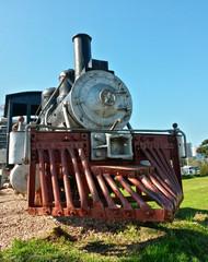 Old locomotive in Bento Gonçalves, Brazil