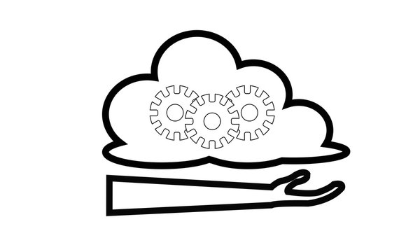 Services icon, Cloud services, Services flat icon, Services icon illustration, cloud space providers, microservices providers, services provider,  server storage providers, hosting providers
