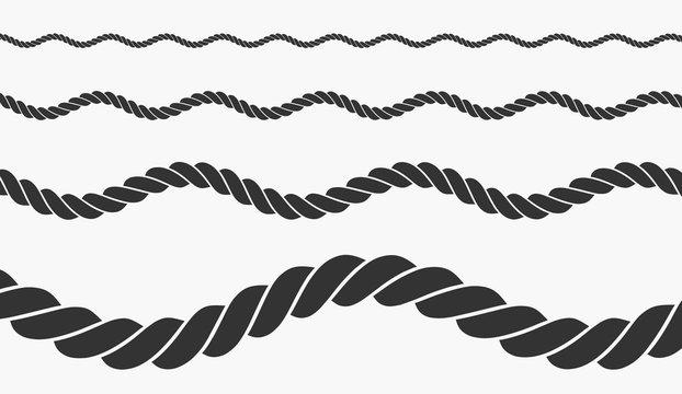 rope vector illustration