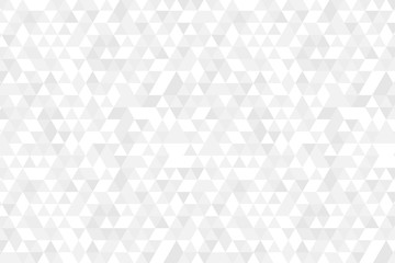 Wall Mural - Gray White Grid Mosaic Background, Creative Design Templates