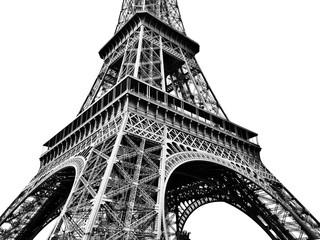 Eiffel Tower Against Clear Sky