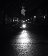 Fototapeta Car Moving Through Street