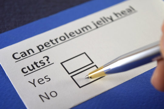 One person is answering question about petroleum jelly.