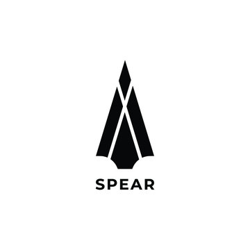 spear head  logo icon design