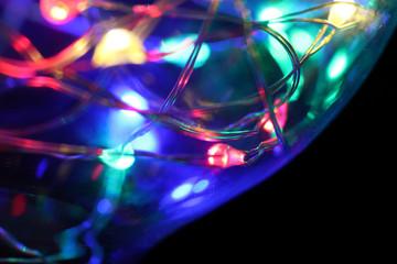 Kolorowe światło LED