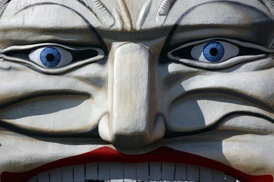 Close-up Of Statue At Luna Park