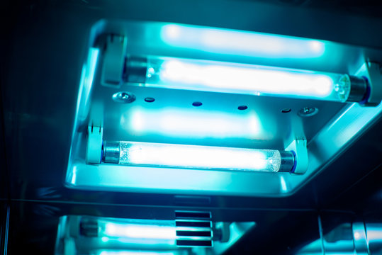 UV light sterilization