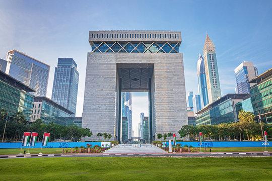 Dubai Financial center district DIFC,United Arab Emirates