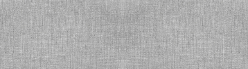 Gray bright natural cotton linen textile texture background banner panorama Fotobehang