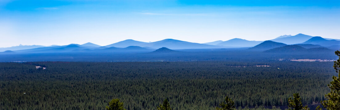 Lava Butte in Newberry National Volcanic Monument...