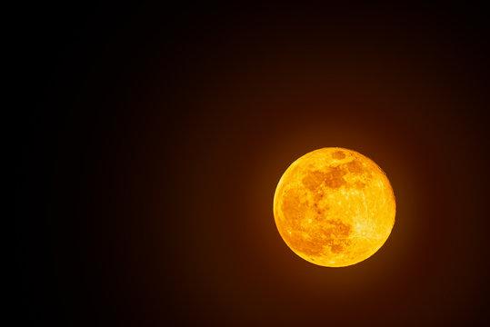 Super moon, full moon shoot in Austria 2020.