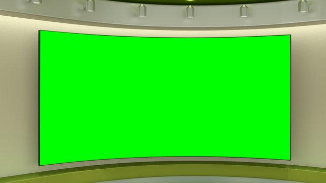 Virtual Studio Background