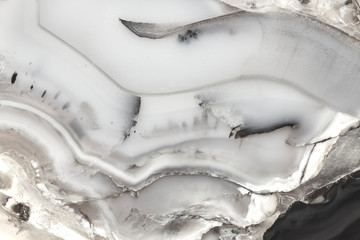 Printed kitchen splashbacks Fairytale World White marble texture stock photo, abstract.