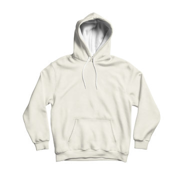 Use this blank Cute Hoodie Mock Up In White Tofu Color to make your design becomes more luxurious