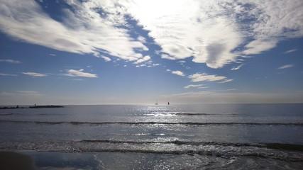 Foto op Aluminium Zee / Oceaan Scenic View Of Sea Against Sky