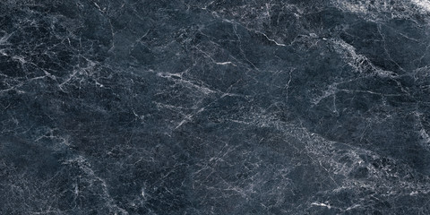 dark blue marble texture, color  marble background Fotobehang