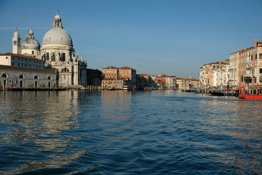 Clear water is seen in the canals due to less tourists, motorboats and pollution, as the spread of the coronavirus disease (COVID-19) continues, ahead of Earth Day, in Venice