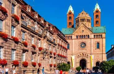 Dom. Speyer. Deutschland Fototapete