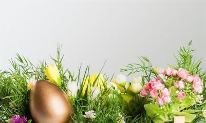 Easter egg. Wall mural