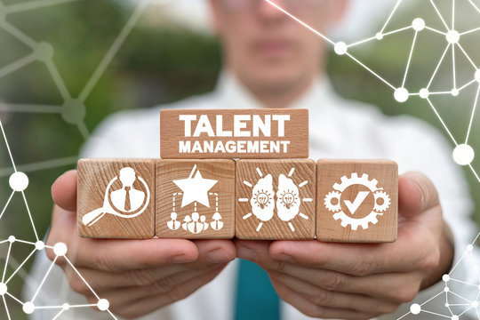 Talent Management Business Concept. Staffing Career HR. Search talented employees.