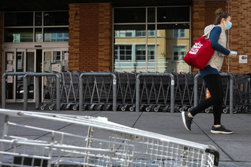 Whole Foods employees test positive for the coronavirus diease (COVID-19) at the Whole Foods Market grocery store in Washington