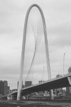 Margaret Hunt Hill Bridge Against Sky