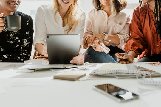 Womens business meeting