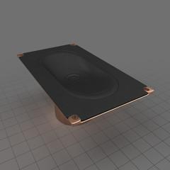 Rectangular speaker
