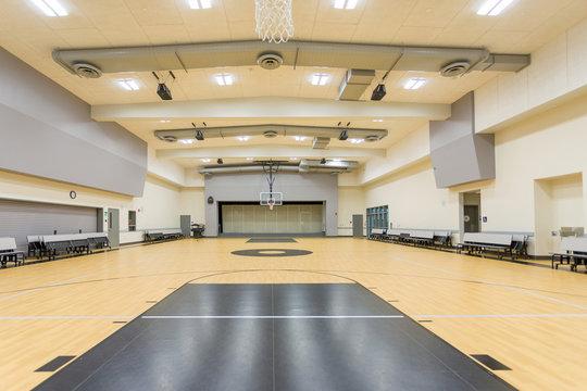 school gym empty