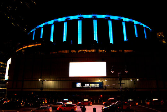 New York, NY, U.S.A. - Madison Square Garden: Madison Square Garden, colloquially known as The Garden or in initials as MSG, is a multi-purpose indoor arena in New York City.