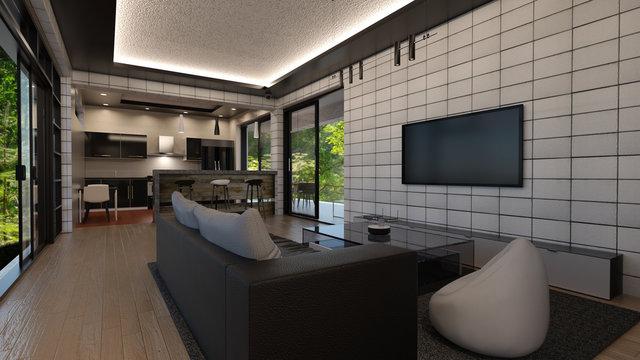 Gemütlicher Wohnraum