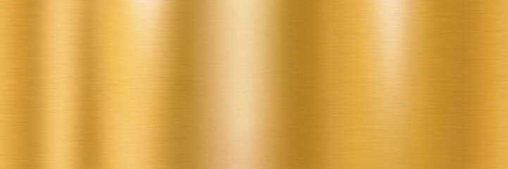 Golden brushed metal surface